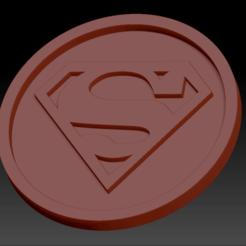 Télécharger fichier STL gratuit Médaillon Superman • Design à imprimer en 3D, edbo