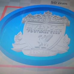 Télécharger fichier 3D gratuit Medaillon Liverpool FC, edbo