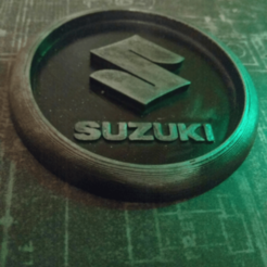 Descargar modelos 3D gratis Medaillon Suzuki, edbo