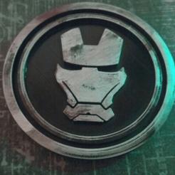 Descargar archivos 3D gratis Medaillon Iron Man, edbo