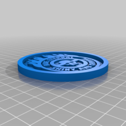 Télécharger plan imprimante 3D gatuit Médaillon Mad Max, edbo