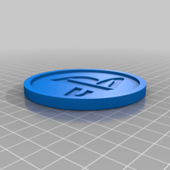 Download free 3D printer templates Medaillon Playstation, edbo