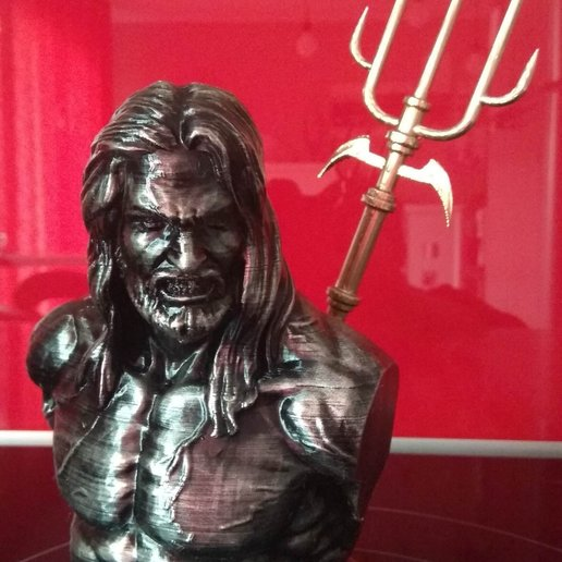 Download 3D print files Aquaman Bust, edbo
