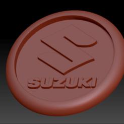 Télécharger fichier STL gratuit Médaillon Suzuki • Design à imprimer en 3D, edbo