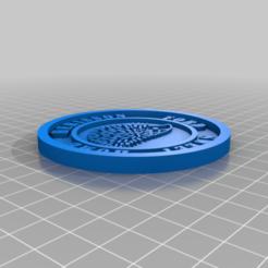 Download free 3D printer designs Medaillon Herisson Ford, edbo