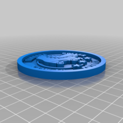 Télécharger plan imprimante 3D gatuit Médaillon Roller, edbo