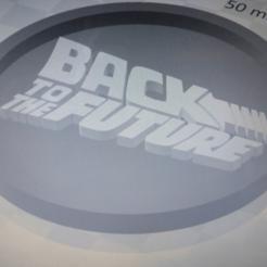 Télécharger objet 3D gratuit Medaillon Retour vers le futur, edbo