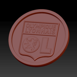 Download free STL file Lyon Olympic Medallion • 3D printing template, edbo
