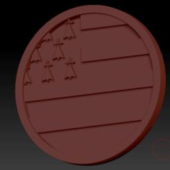 Breizh03.png Download free STL file Medallion Breizh • 3D printer model, edbo