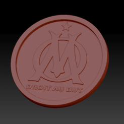 Download free STL file Olympic Medallion of Marseille • 3D print design, edbo