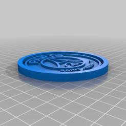 Descargar archivos 3D gratis Medaillon PSG, edbo