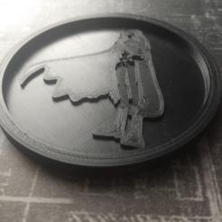 Descargar modelo 3D gratis Medaillon Albator, edbo