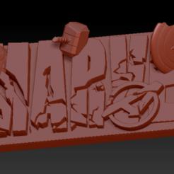 Télécharger fichier STL Marvel Destroyed • Plan imprimable en 3D, edbo