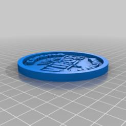 Télécharger fichier impression 3D gratuit Medaillon Corona Antidote, edbo
