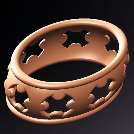 Download 3D printing files bracciale crosses, fernandobech