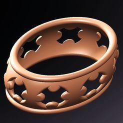 bracciale cruces.jpg Télécharger fichier STL les croix bracciales • Modèle imprimable en 3D, fernandobech