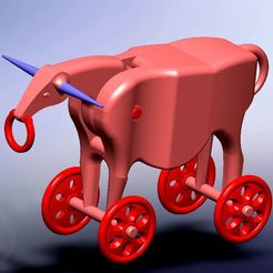 vaca 4.jpg Download STL file articulated rolling cow toy • 3D printing model, fernandobech