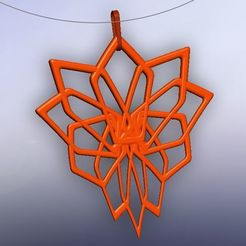 colgante pentágonos.jpg Download STL file pentagon pendant • 3D printable object, fernandobech