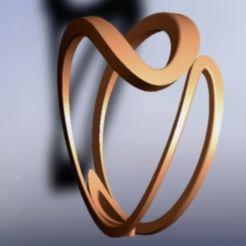 anillo art nouveau.jpg Download STL file art nouveau ring • Template to 3D print, fernandobech
