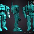 Download free 3D printing designs Wargaming Model - Aurox-Pattern automata , Rosegold_Ramparts