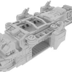 Impresiones 3D Wargaming Terrain - Vigiles Dropship, Rosegold_Ramparts