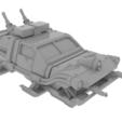 Descargar Modelos 3D para imprimir gratis Terreno de Wargaming - Grimdark Police Interceptor, Rosegold_Ramparts