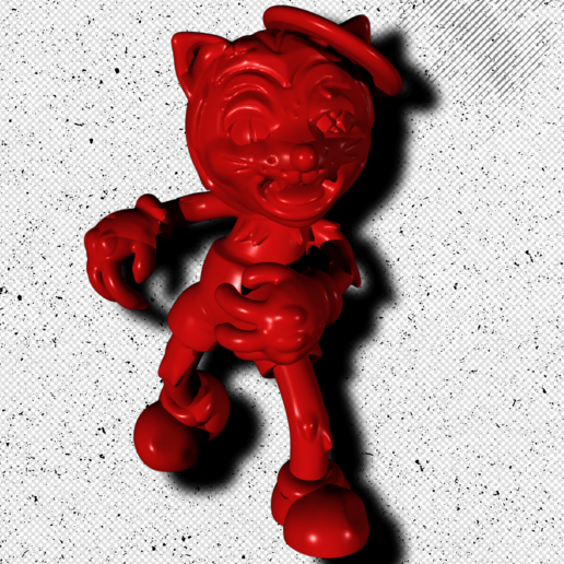Download free STL file Toon Goons - MaX • 3D printing object, ToonGoons