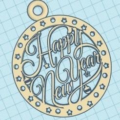 Download STL files Happy New Year, zafirah99
