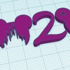 Download free 3D printing models 2020 Disney, zafirah99