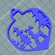 Download free 3D printer files Christmas ornament Deer, zafirah99
