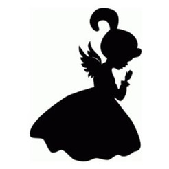 Download 3D printer designs Angel girl Christmas ornament, zafirah99