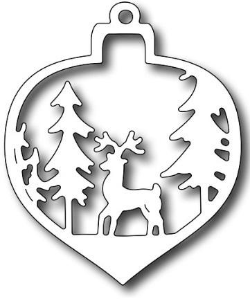 adorno ciervo.jpg Download free STL file Christmas ornament Deer • 3D printable object, zafirah99