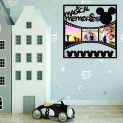 Télécharger fichier impression 3D Cadre photo de Disney Memories, zafirah99
