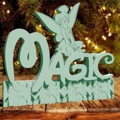 magic campanita foto.jpg Download STL file Tinkerbell Magic • Design to 3D print, zafirah99