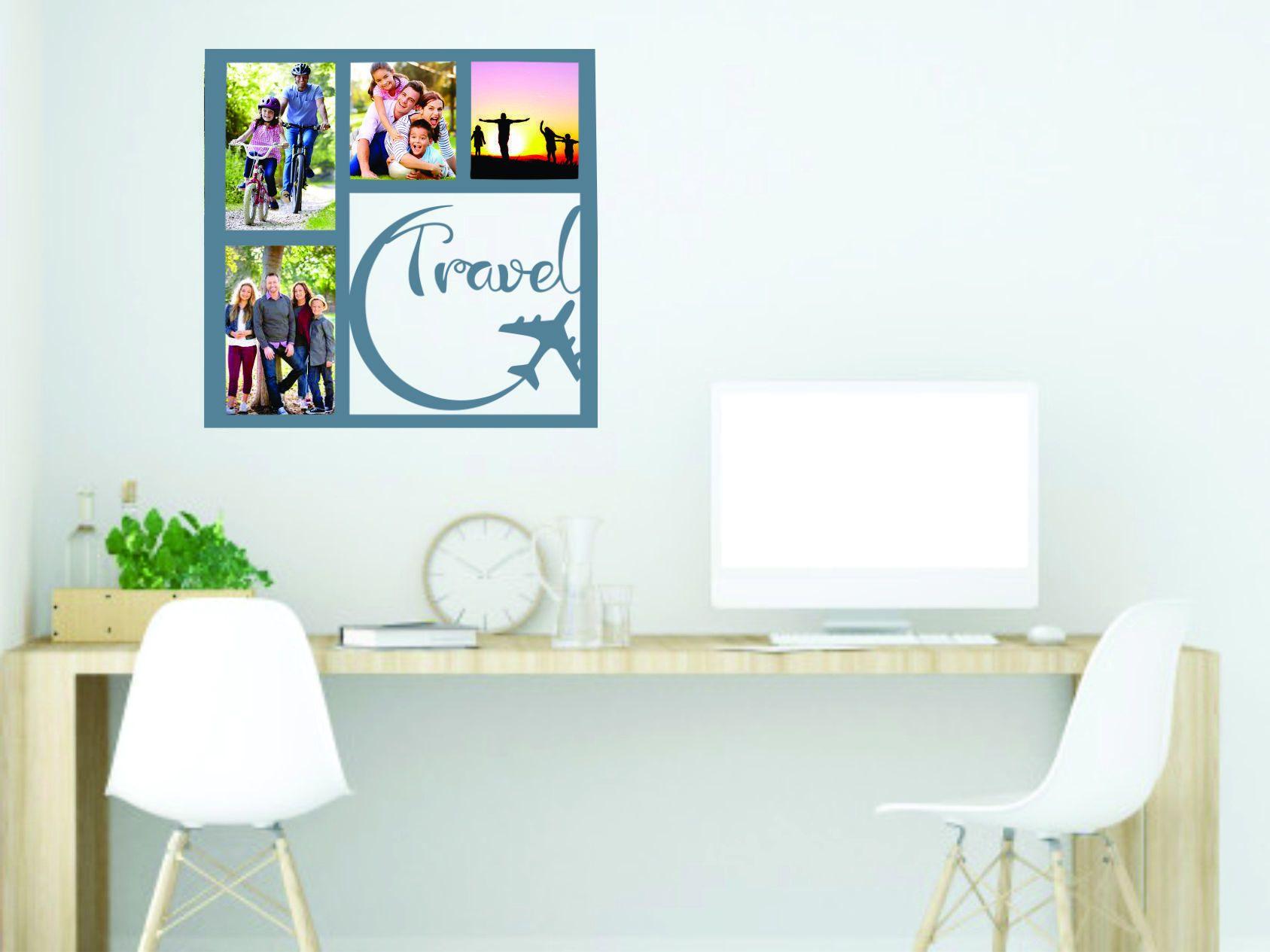 living travel.jpg Download free STL file Travel photo frame - Travel photo frame • 3D print object, zafirah99