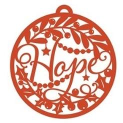 Download 3D print files Hope christmas ornament, zafirah99