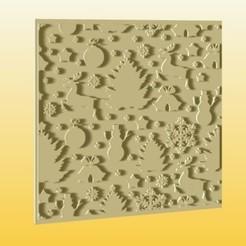 foto 1.jpg Download STL file Christmas Stamp Set for Cookies - Fondant • Template to 3D print, zafirah99