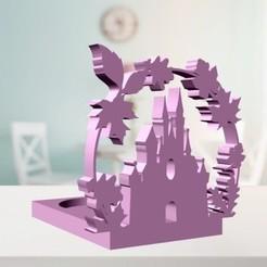 Télécharger objet 3D Bougeoir du château magique, zafirah99