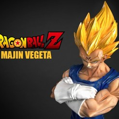 Download 3D printer templates Majin Vegeta, blueday66