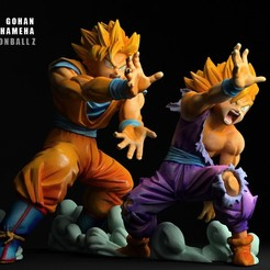 004.jpg Download STL file GOHAN GOKU KAMEHAMEHA 3D Scan • 3D printing object, blueday66