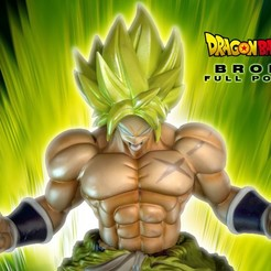 Télécharger plan imprimante 3D BROLY FULL POWER 3DScan, blueday66