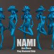 nami_0002.jpg Download STL file Nami flag diamond ship 3DScan • 3D printable model, blueday66