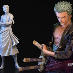Download 3D printing models ZORO, blueday66