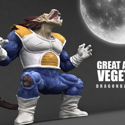 Impresiones 3D VEGETA Great Ape 3D Scan, blueday66
