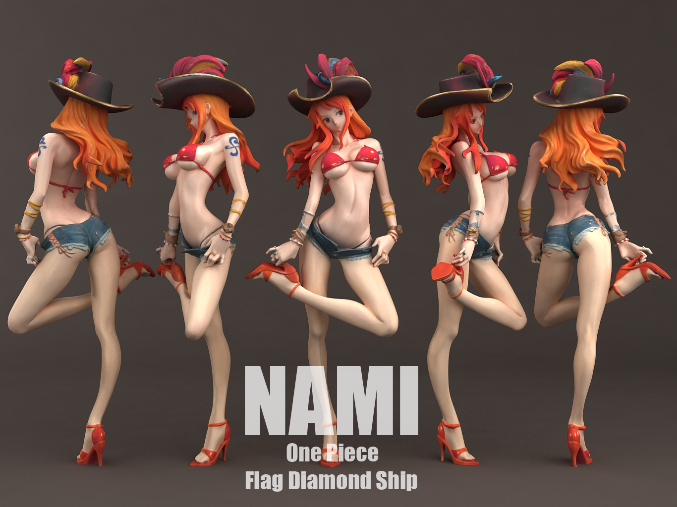 nami_0001.jpg Download STL file Nami flag diamond ship 3DScan • 3D printable model, blueday66