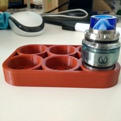 Imprimir en 3D gratis Remezcla de Vape Holder Lightweight, zajeciamajda