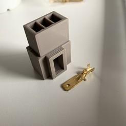 Imprimir en 3D Conector para encendedor de cigarrillos VAG de 3 clavijas planas, zajeciamajda