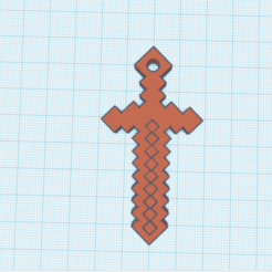 sword.png Download STL file Minecraft sword necklace • 3D printer design, espinozaerik
