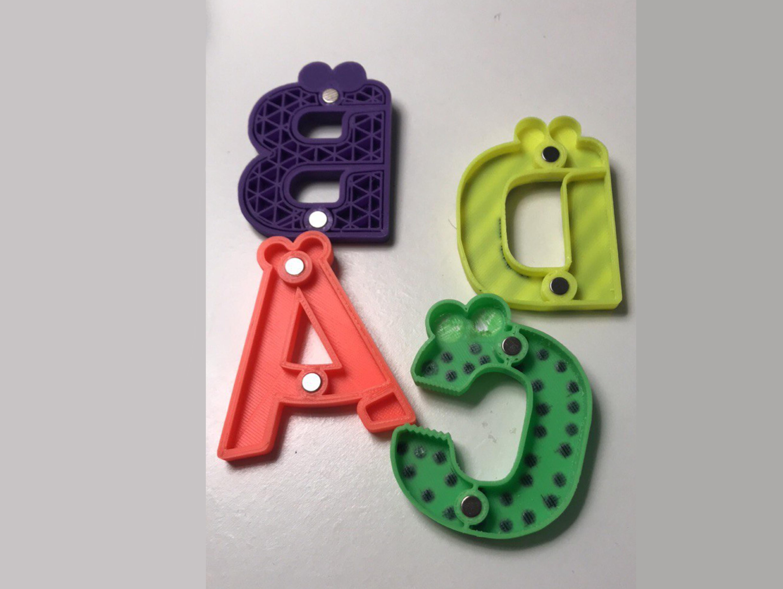 124.jpg Télécharger fichier STL gratuit Alphabet pour enfants. F G H H I J J • Objet imprimable en 3D, Ruvimkub