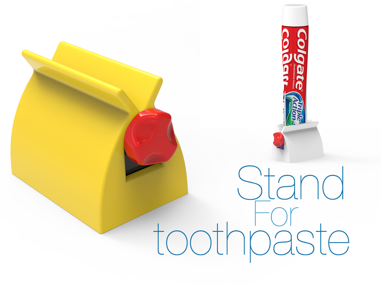 333.jpg Download free STL file Stand for toothpaste • 3D printer object, Ruvimkub